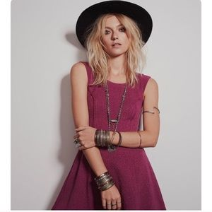 Free People Fit and Flare Dress XS